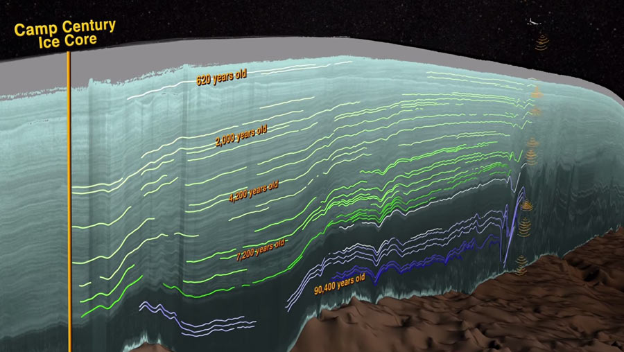 NASA Greenlad 3d Ice Mapping