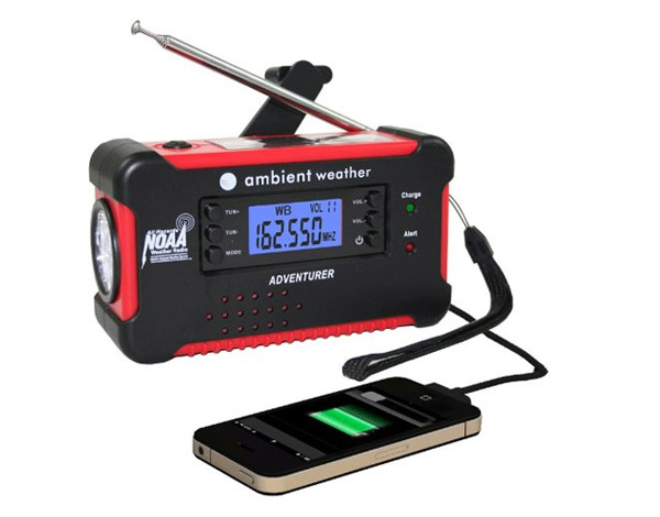 Ambient Weather WR-111B - emergency weather radio