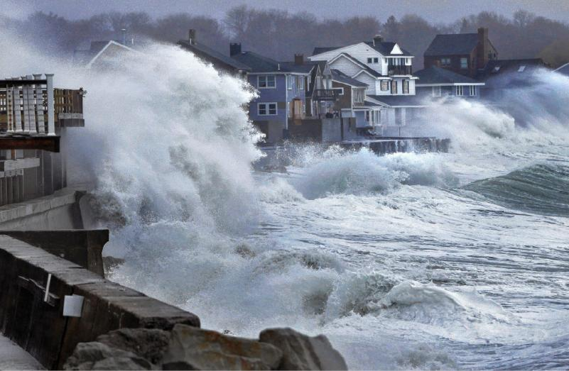 Devastating Coastal Floods Because Of Global Warming | NWC
