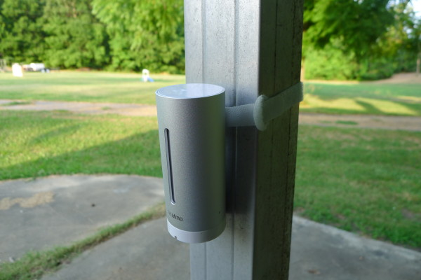 Netatmo outside installation