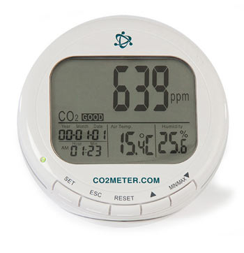 TIM10 Indoor CO2 Air Quality Meter