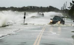 hurricane during