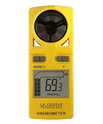 la cross handheld weather meter