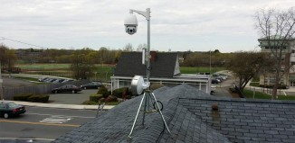 Outdoor Weather IP Camera