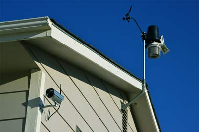 Use weather station with IP camera for complate weather tracking setup