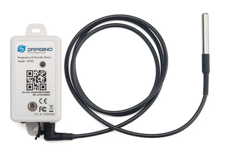 dragino lht65 remote temperature monitor lorawan