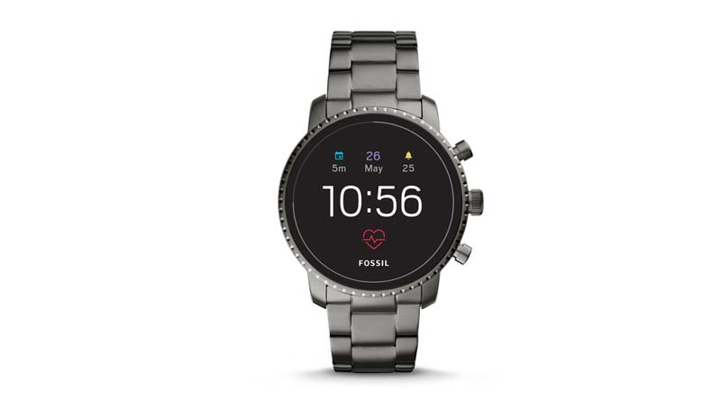 fossil q explorist model gen 4 with nfc support