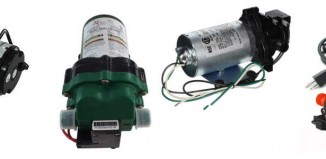 different variants of on demand water pumps