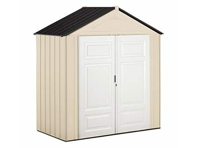 147 cubit feet storage shed