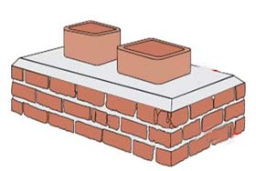 multi flue chimney illustration