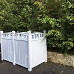 outdoor garbage encloser 2019