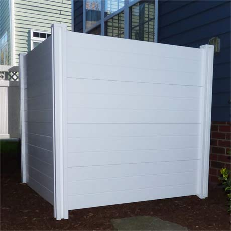 outdoor garbage screen