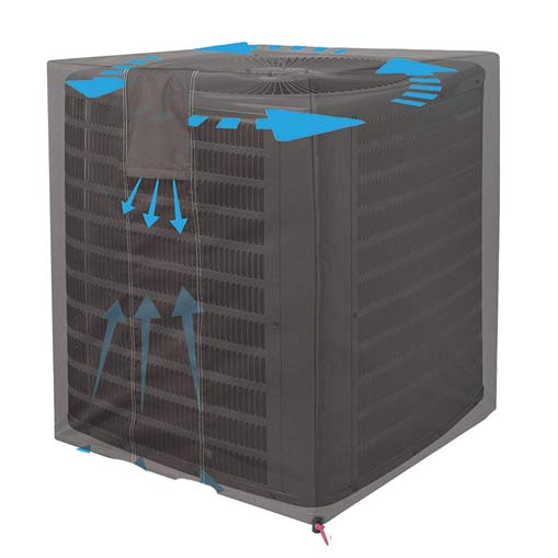 central entrance air conditioner cover