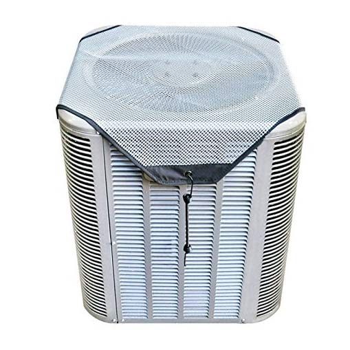 air conditioner cover with mesh guard on top
